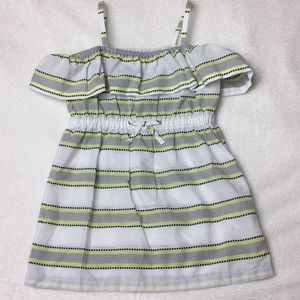 Janie and Jack off the shoulder dress size 3